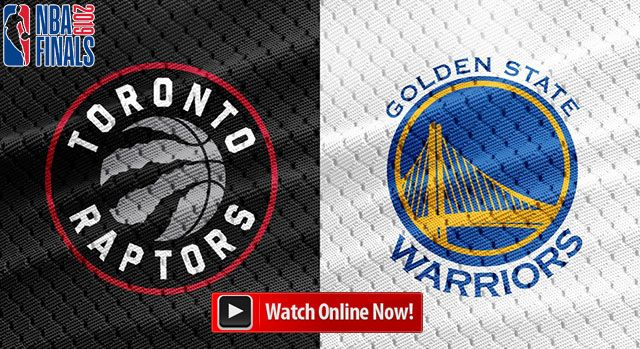 warriors vs raptors live stream